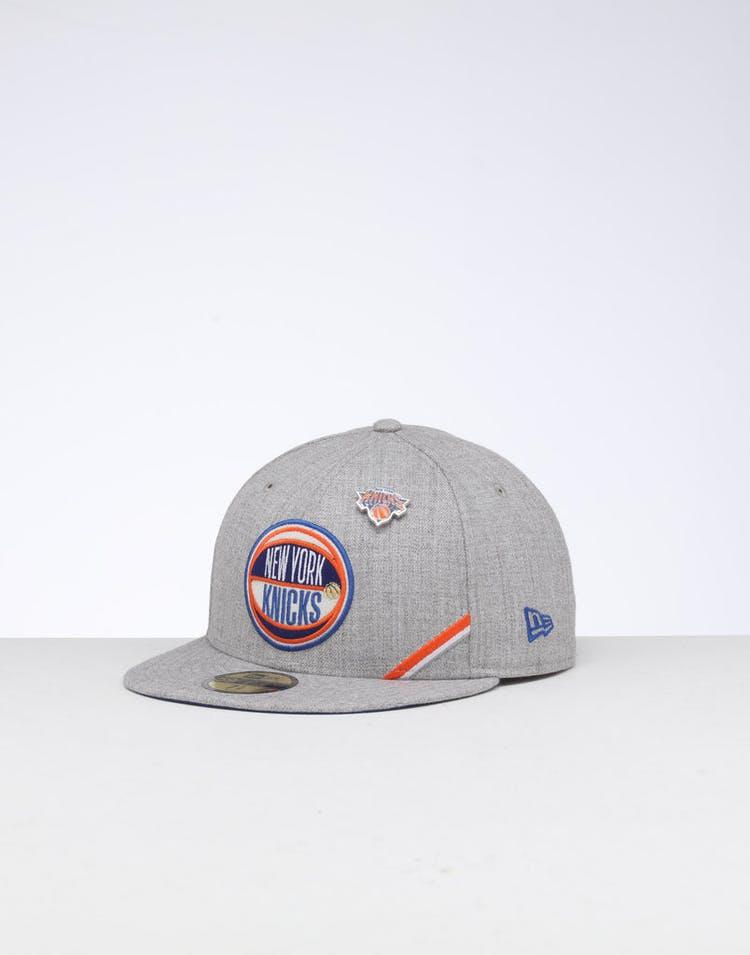 47ad2fec New Era New York Knicks 59FIFTY NBA Draft Fitted Dark Blue/OTC