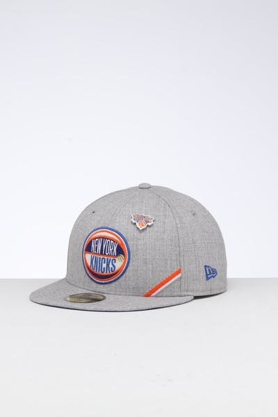 meet 80f56 9fd72 New Era New York Knicks 59FIFTY NBA Draft Fitted Dark Blue OTC ...