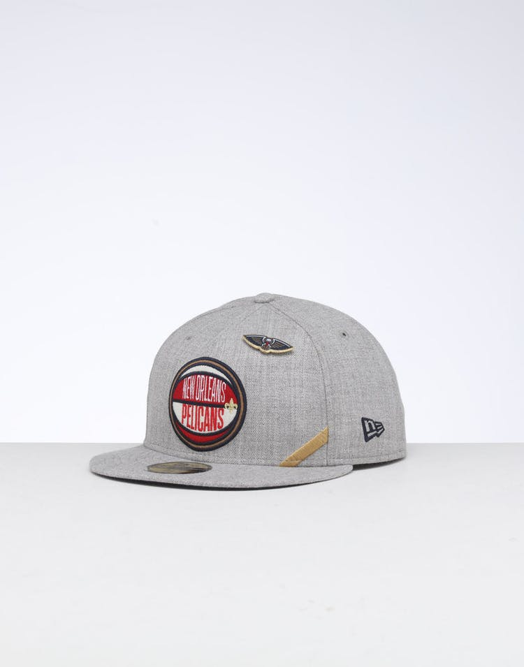 finest selection afafb bd2f3 New Era New Orleans Pelicans 59FIFTY NBA Draft Fitted Navy OTC – Culture  Kings