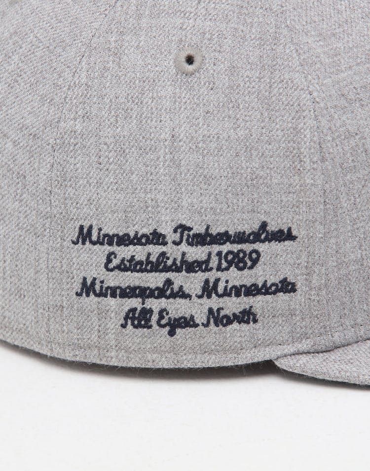 finest selection a82d4 fb618 New Era Minnesota Timberwolves 59FIFTY NBA Draft Fitted Navy OTC