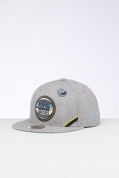 New Era Memphis Grizzlies 59FIFTY NBA Draft Fitted Sky Blue/OTC