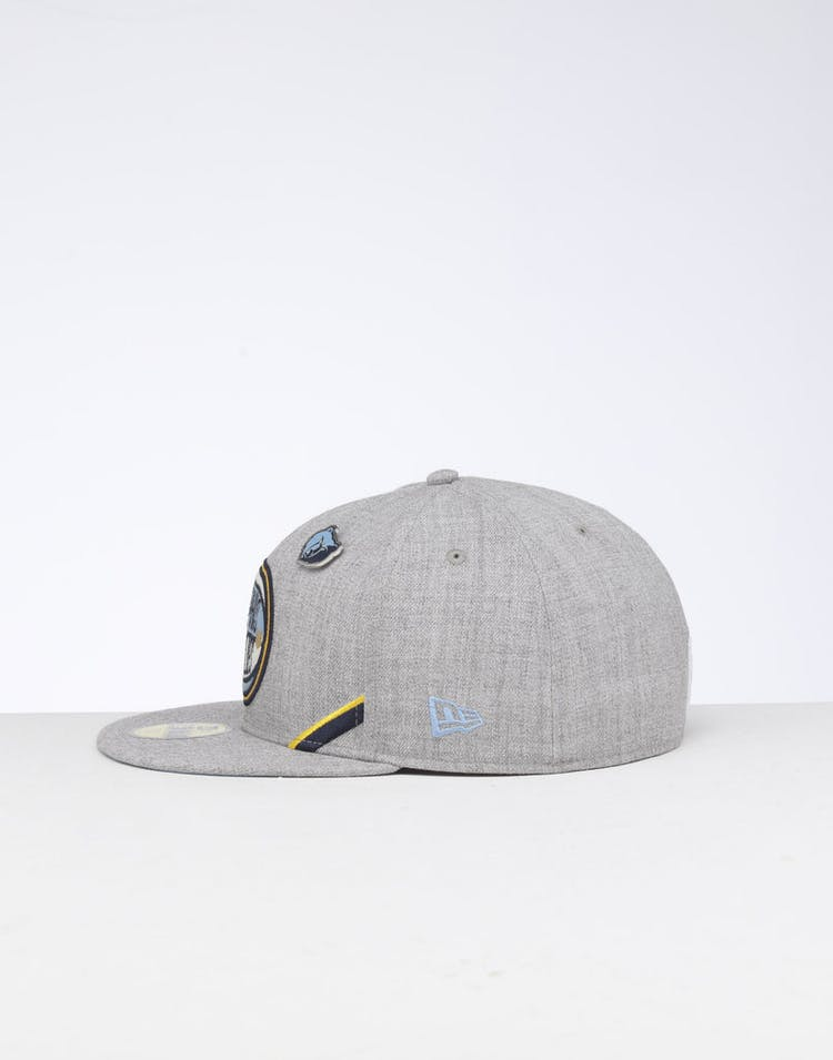 in stock 2bdb3 070ce New Era Memphis Grizzlies 59FIFTY NBA Draft Fitted Sky Blue OTC