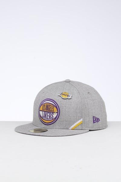 New Era Los Angeles Lakers 59FIFTY NBA Draft Fitted Royal/OTC