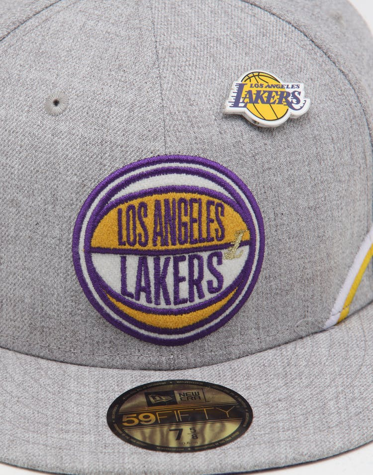 purchase cheap f315c bae9f New Era Los Angeles Lakers 59FIFTY NBA Draft Fitted Royal OTC