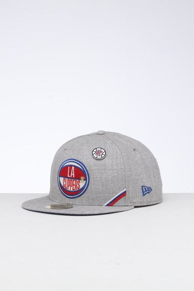 New Era Los Angeles Clippers 59FIFTY NBA Draft Fitted Dark Blue/OTC