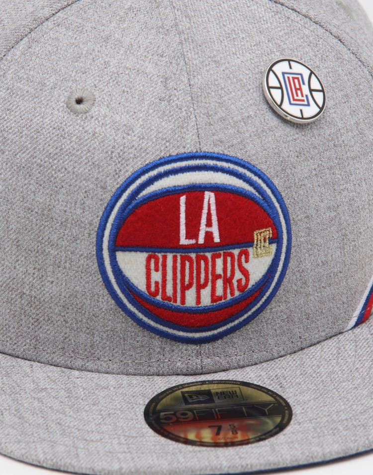 info for 184dc f8504 New Era Los Angeles Clippers 59FIFTY NBA Draft Fitted Dark Blue OTC