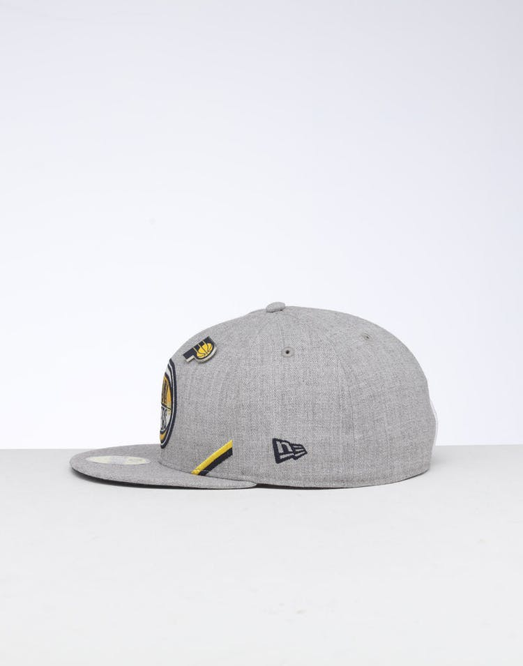 reputable site f23c5 56c52 New Era Indiana Pacers 59FIFTY NBA Draft Fitted Blue OTC