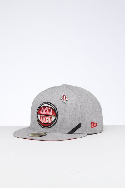 New Era Houston Rockets 59FIFTY NBA Draft Fitted Red/OTC
