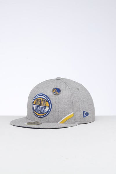 New Era Golden State Warriors 59FIFTY NBA Draft Fitted Royal/OTC