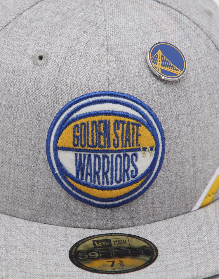 best service bb730 558b5 New Era Golden State Warriors 59FIFTY NBA Draft Fitted Royal OTC
