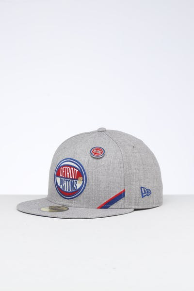 new products 37ef9 a57e1 New Era Detroit Pistons 59FIFTY NBA Draft Fitted Blue OTC