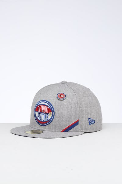 New Era Detroit Pistons 59FIFTY NBA Draft Fitted Blue/OTC