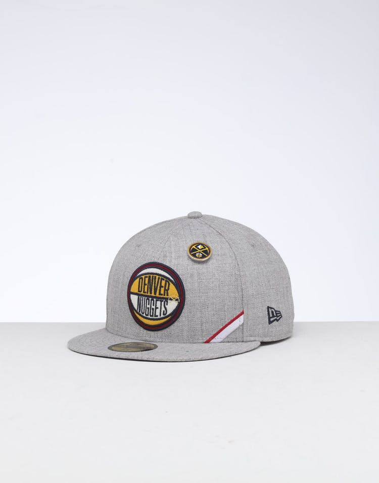 lowest price 9ff15 2a784 New Era Denver Nuggets 59FIFTY NBA Draft Fitted Navy OTC – Culture Kings