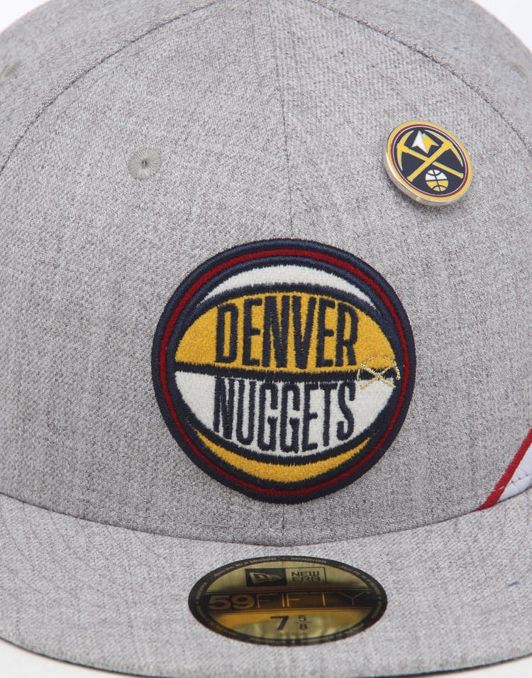 d5d0bad34 New Era Denver Nuggets 59FIFTY NBA Draft Fitted Navy/OTC
