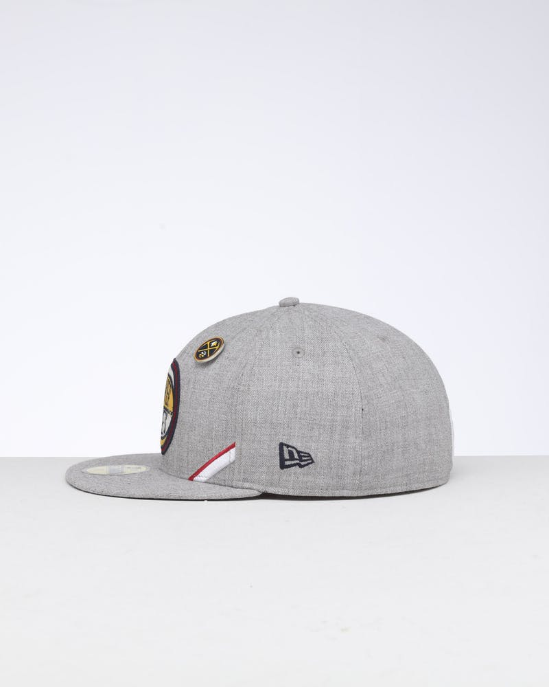 New Era Denver Nuggets 59FIFTY NBA Draft Fitted Navy/OTC