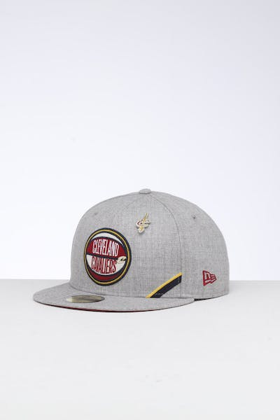 brand new d8c75 e6764 New Era Cleveland Cavaliers 59FIFTY NBA Draft Fitted Maroon OTC ...
