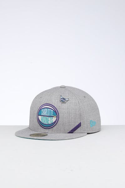 New Era Charlotte Hornets 59FIFTY NBA Draft Fitted Teal/OTC