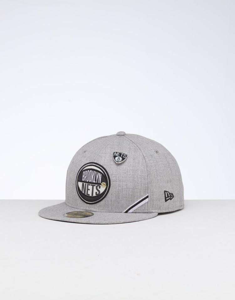 5d83ce0a New Era | Brooklyn Nets Cap Black/Gray | NBA Cap | Mens Cap | Suave –  Culture Kings