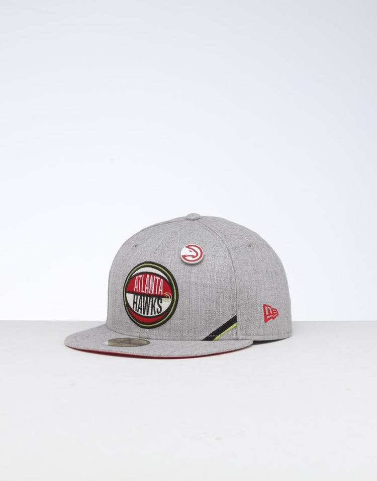 release date a1a49 98857 New Era Atlanta Hawks 59FIFTY NBA Draft Fitted Red OTC – Culture Kings