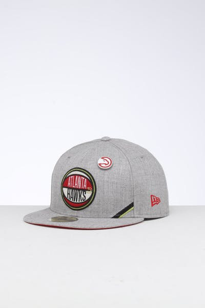 the latest a8cb1 60699 New Era Atlanta Hawks 59FIFTY NBA Draft Fitted Red OTC ...