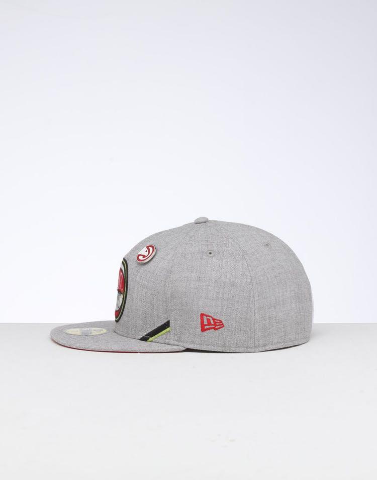 b17fe66aaccf40 New Era   Atlanta Hawks Cap Red/Gray   NBA Cap   Mens   New Line – Culture  Kings