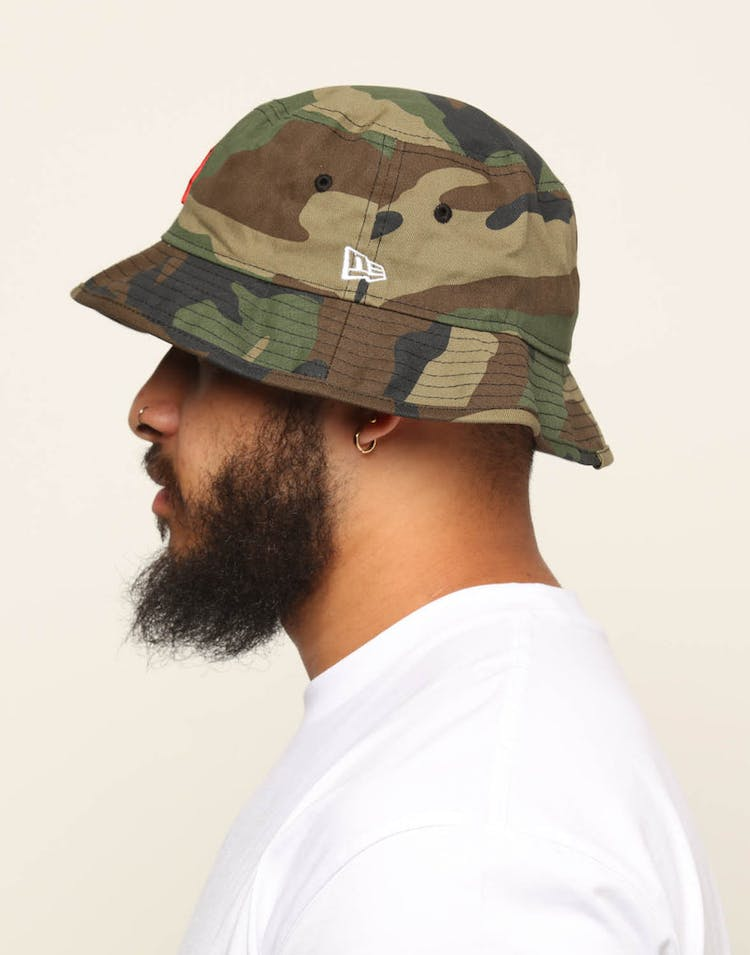 New Era Boston Red Sox Bucket Hat Camo