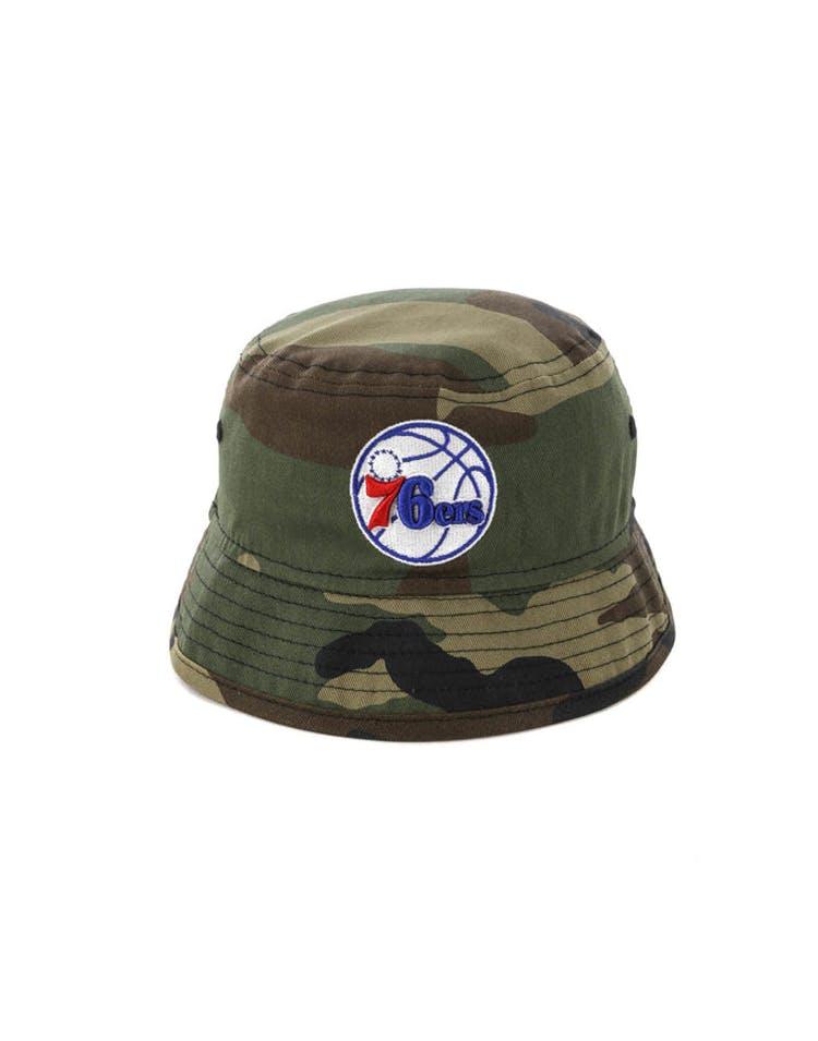 sale retailer ad969 bad52 New Era Toddler Philadelphia 76ers Bucket Hat Camo – Culture Kings