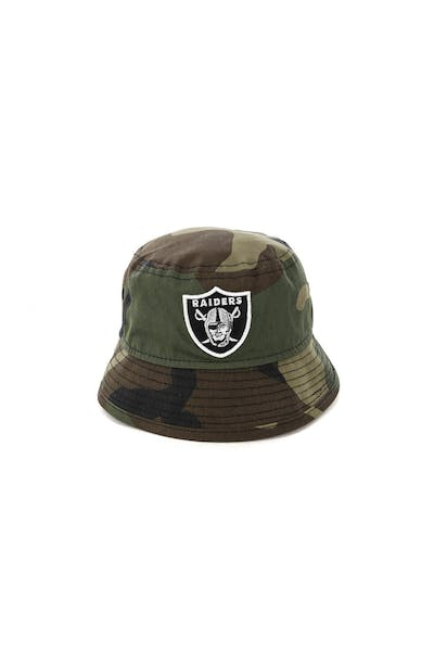 New Era Infant Raiders Bucket Hat Camo