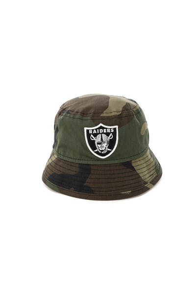 New Era Toddler Raiders Bucket Hat Camo