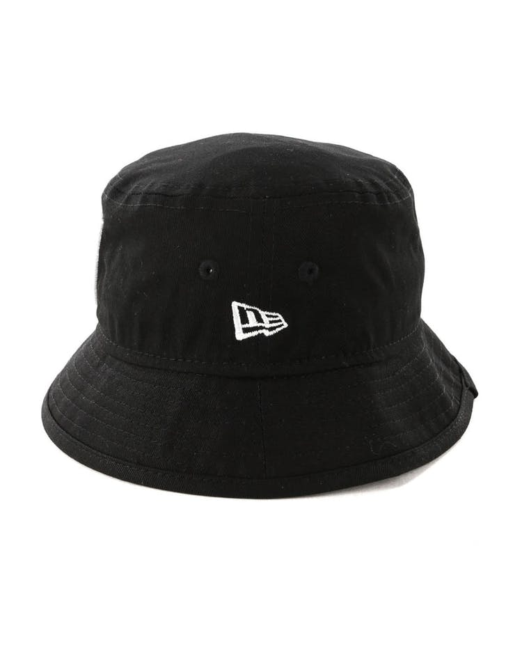 New Era Toddler Raiders Bucket Hat Black/White