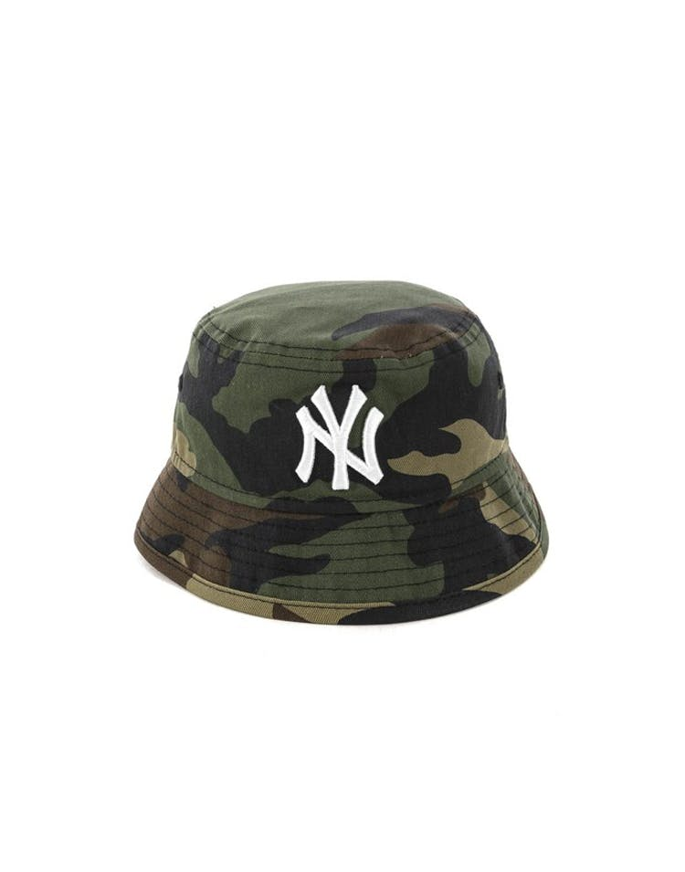 5e9b7388700 New Era Infant New York Yankees Bucket Hat Camo – Culture Kings