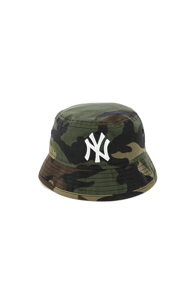 New Era Infant New York Yankees Bucket Hat Camo