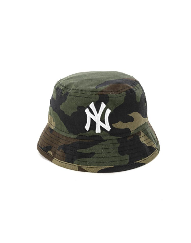 24b313cce0 New Era Toddler New York Yankees Bucket Hat Camo – Culture Kings