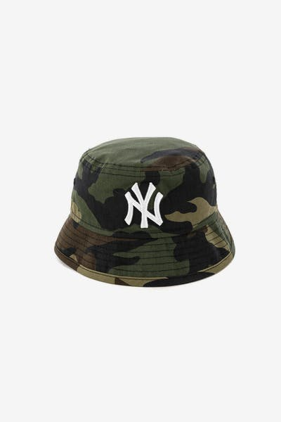 New Era Toddler New York Yankees Bucket Hat Camo