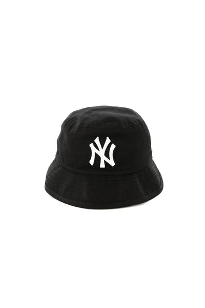 New Era Infant New York Yankees Bucket Hat Black/White
