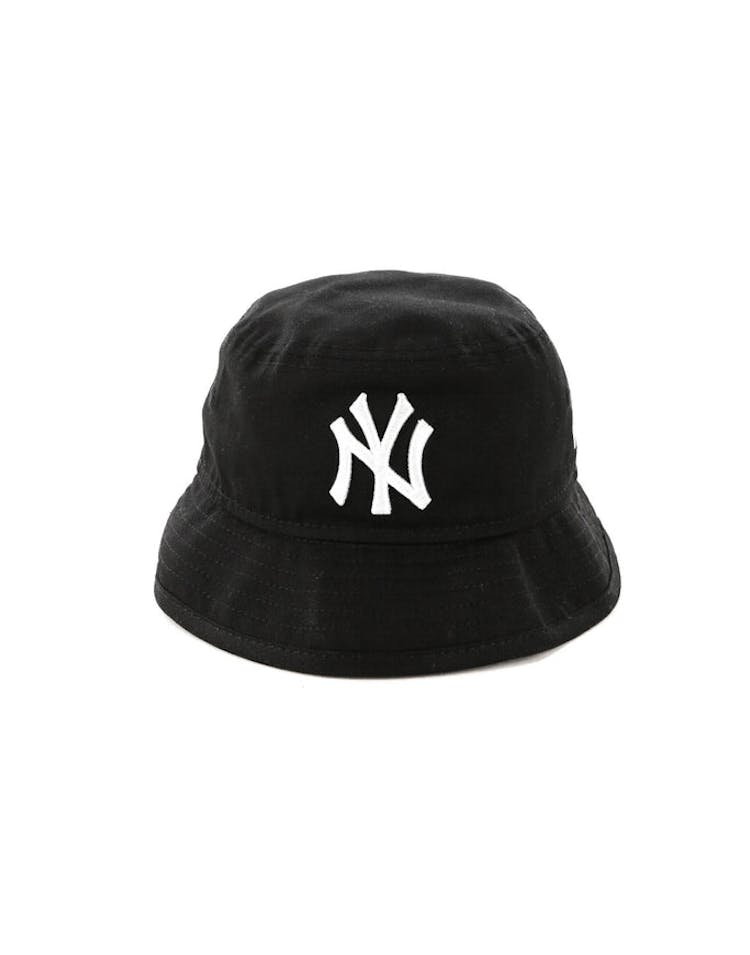b8e037cd65f New Era Toddler New York Yankees Bucket Hat Black White – Culture Kings