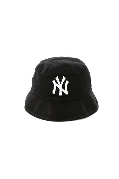 New Era Toddler New York Yankees Bucket Hat Black/White