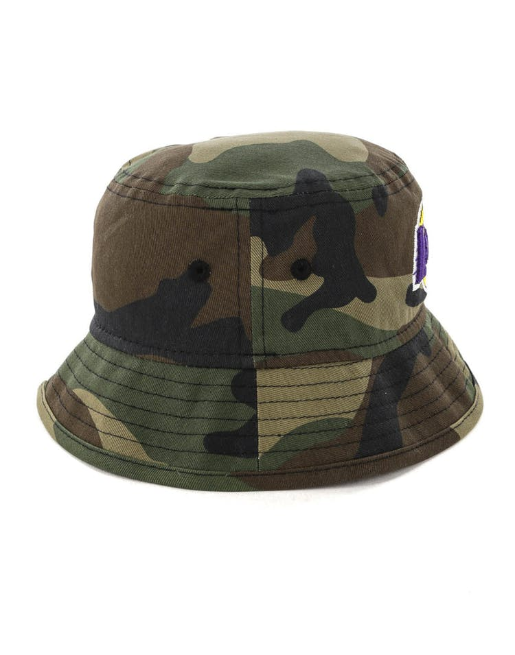 New Era Infant Los Angeles Lakers Bucket Hat Camo