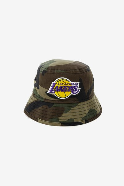 0e4fc02e550 New Era Toddler Los Angeles Lakers Bucket Hat Camo