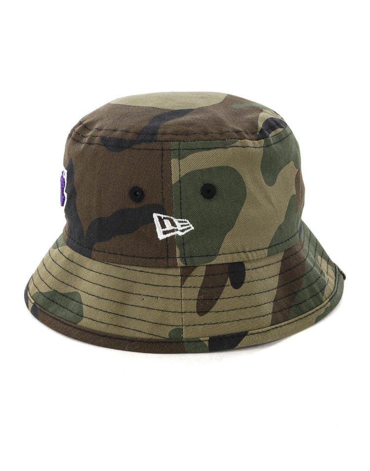 7fdbc5b2 New Era Toddler Los Angeles Lakers Bucket Hat Camo – Culture Kings