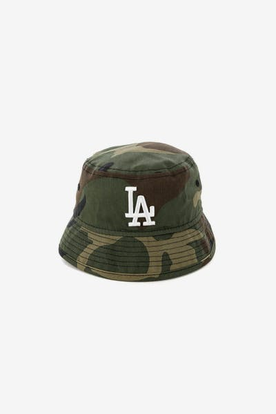 New Era Infant Los Angeles Dodgers Bucket Hat Camo