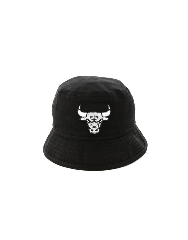 8787b1be7 New Era Infant Chicago Bulls Bucket Hat Black/White