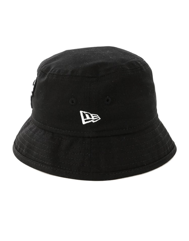 New Era Toddler Chicago Bulls Bucket Hat Black/White