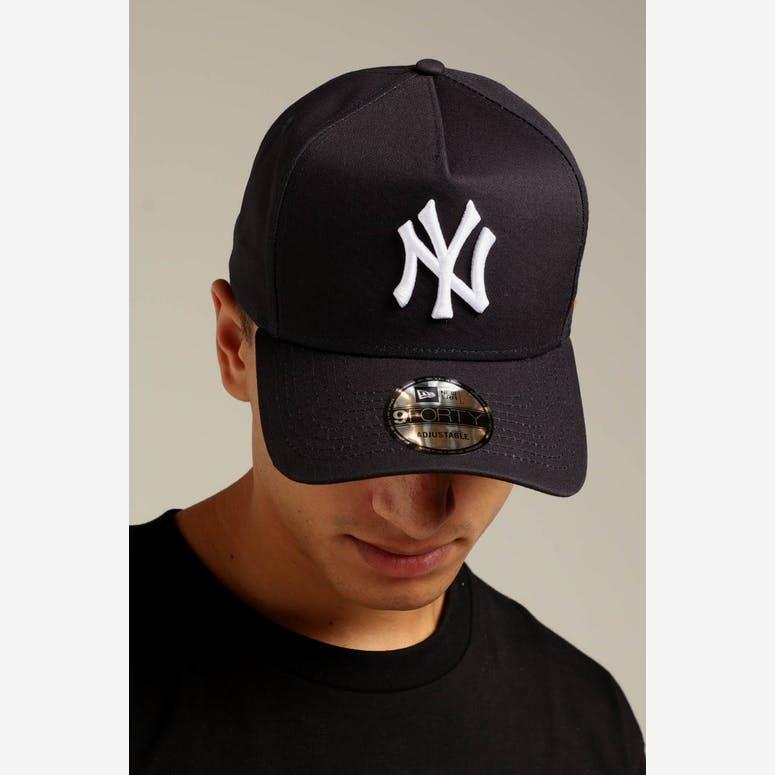 New Era New York Yankees K-Frame Snapback Navy White – Culture Kings f2b462a59aef