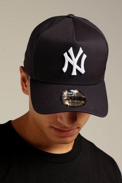 New Era New York Yankees K-Frame Snapback Navy White 5eabd703317
