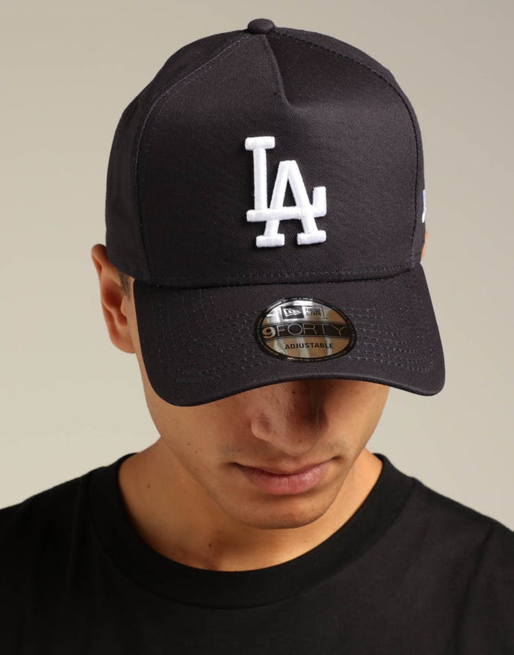 94a9702705c6f New Era Los Angeles Dodgers K-Frame Snapback Navy White – Culture Kings