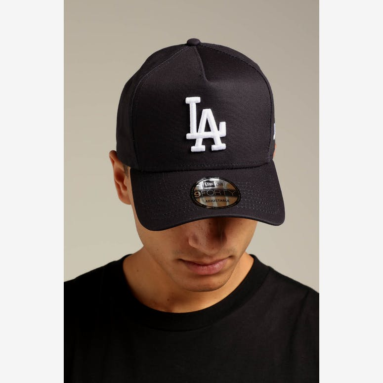 58b7f008fd4 New Era Los Angeles Dodgers K-Frame Snapback Navy White – Culture Kings