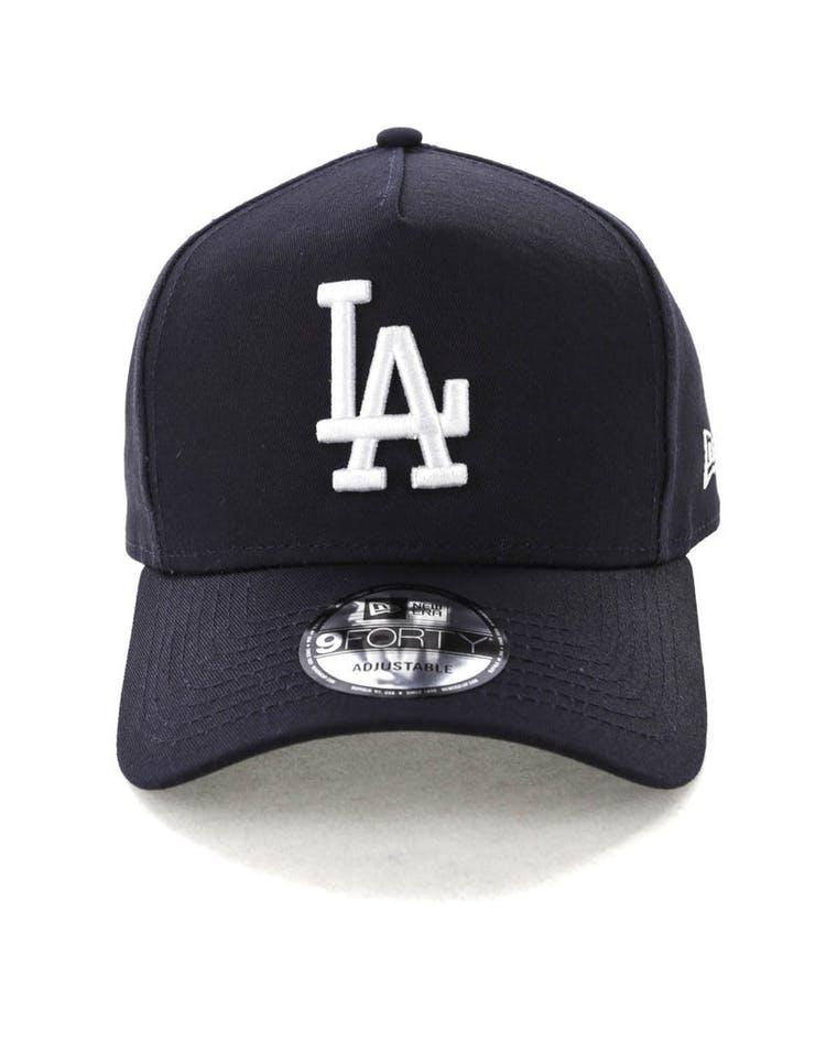 super popular b4a3d f8e39 New Era Los Angeles Dodgers K-Frame Snapback Navy White