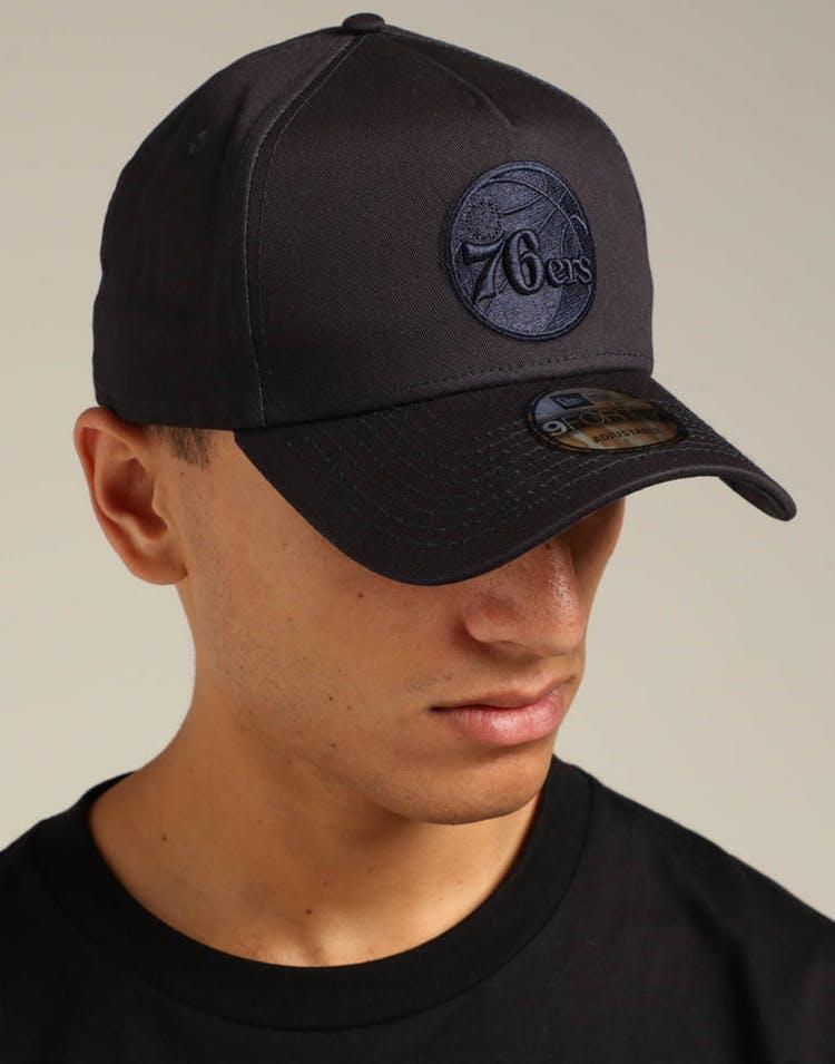 best sneakers 599fc b5cf4 New Era Philadelphia 76ers 9FORTY A-Frame Snapback Navy Tartan – Culture  Kings
