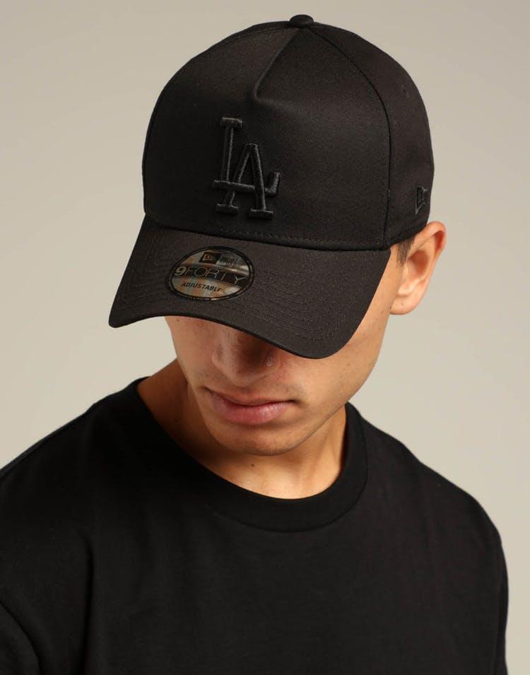 b1e14a75e New Era Los Angeles Dodgers 9FORTY A-Frame Snapback Black/Yellow Tartan